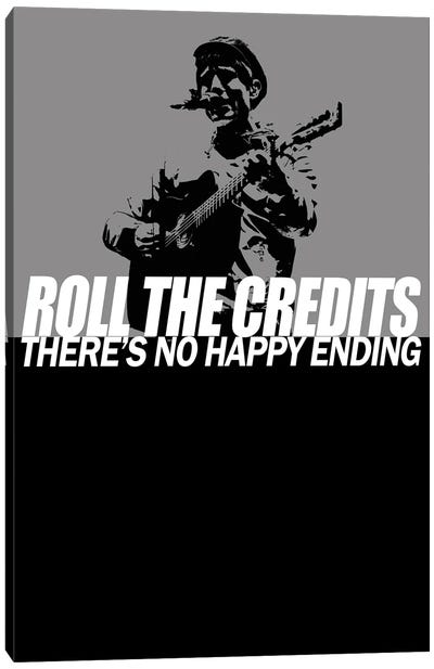 Gerry Cinnamon - Roll The Credits Canvas Art Print