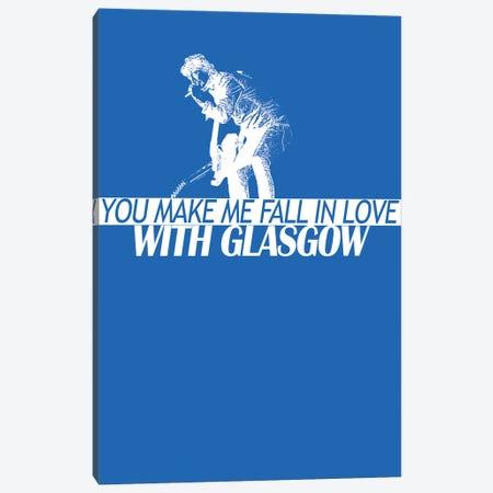 Catfish And The Bottlemen - Glasgow Canvas Print #MMD25} by JMA Media Canvas Artwork