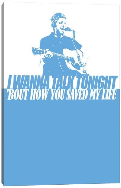 Oasis - Talk Tonight Canvas Art Print
