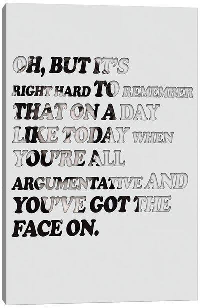 Arctic Monkeys - Mardy Bum Canvas Art Print