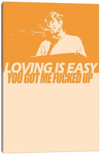 Rex Orange County - Loving Is Easy 2 Canvas Art Print