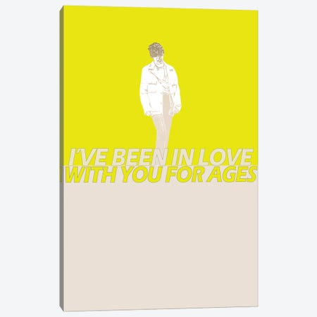 The 1975 - Me And You Together Song Canvas Print #MMD46} by JMA Media Canvas Art