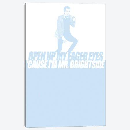 The Killers - Mr Brightside Canvas Print #MMD52} by JMA Media Canvas Artwork