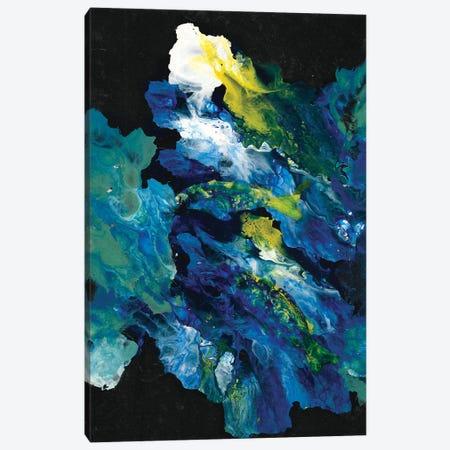 Movement In The Dark 3-Piece Canvas #MME11} by Michelle Angella Meijs Canvas Print