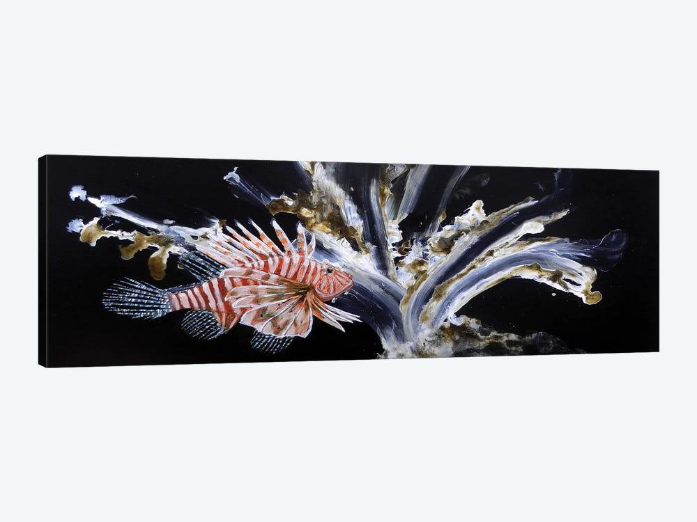 The Lionfish by Michelle Angella Meijs 1-piece Canvas Art