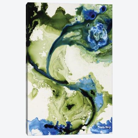 Lavender & Moss 3-Piece Canvas #MME9} by Michelle Angella Meijs Canvas Art