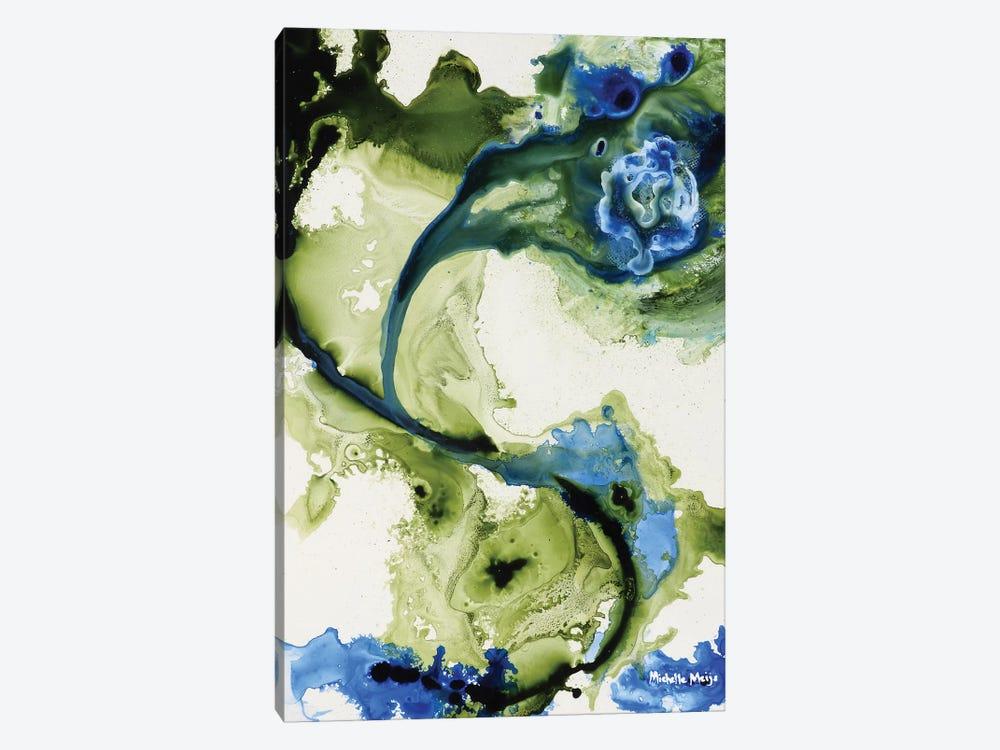 Lavender & Moss by Michelle Angella Meijs 1-piece Canvas Art Print