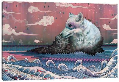 Lone Wolf Canvas Art Print