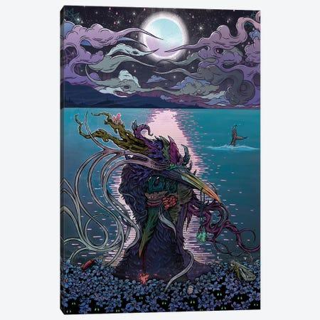 Midnight Meeting Canvas Print #MMI14} by Mat Miller Canvas Artwork