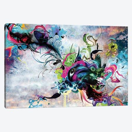 Streaming Eyes Canvas Print #MMI21} by Mat Miller Canvas Wall Art