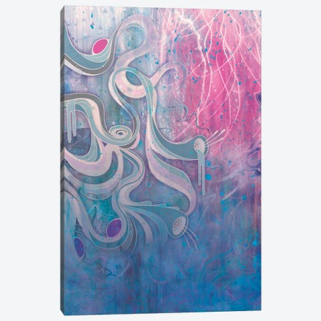 Electric Dreams Canvas Print #MMI2} by Mat Miller Canvas Artwork