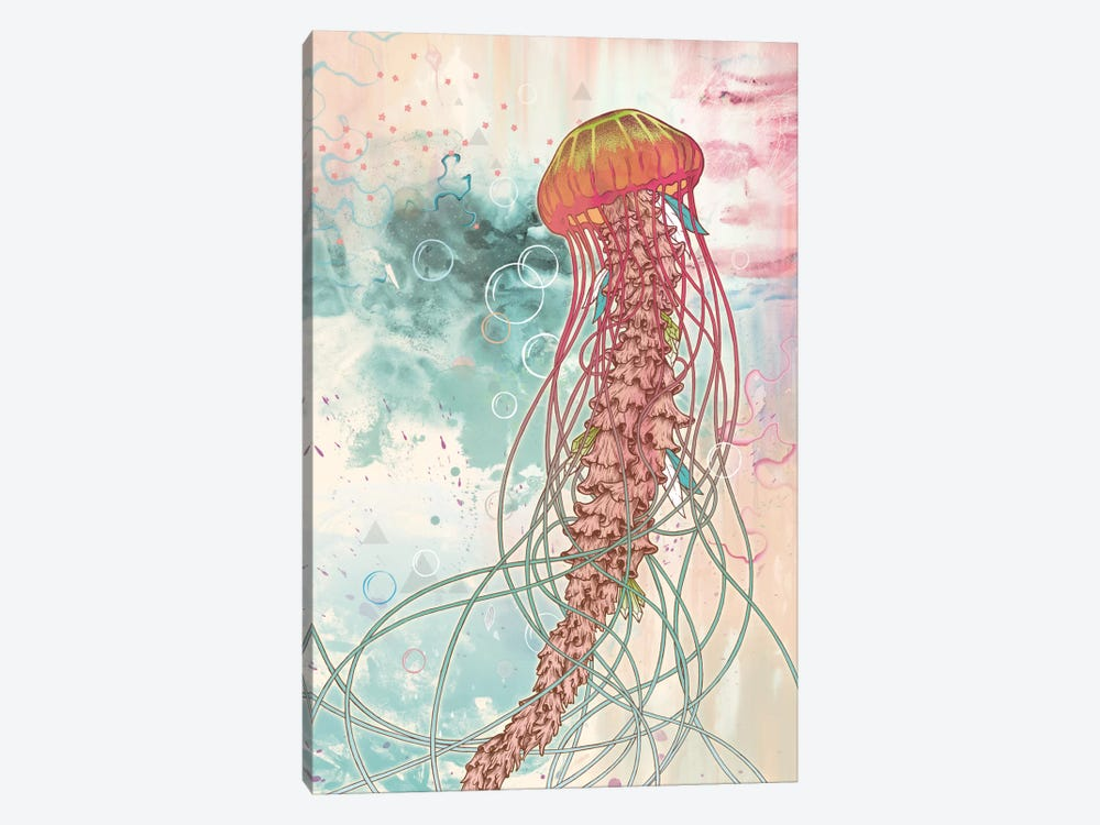 Jellyfish by Mat Miller 1-piece Canvas Art