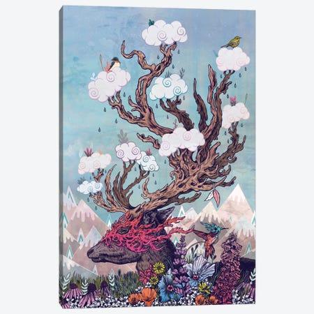 Journeying Spirit (Deer) Canvas Print #MMI34} by Mat Miller Canvas Wall Art
