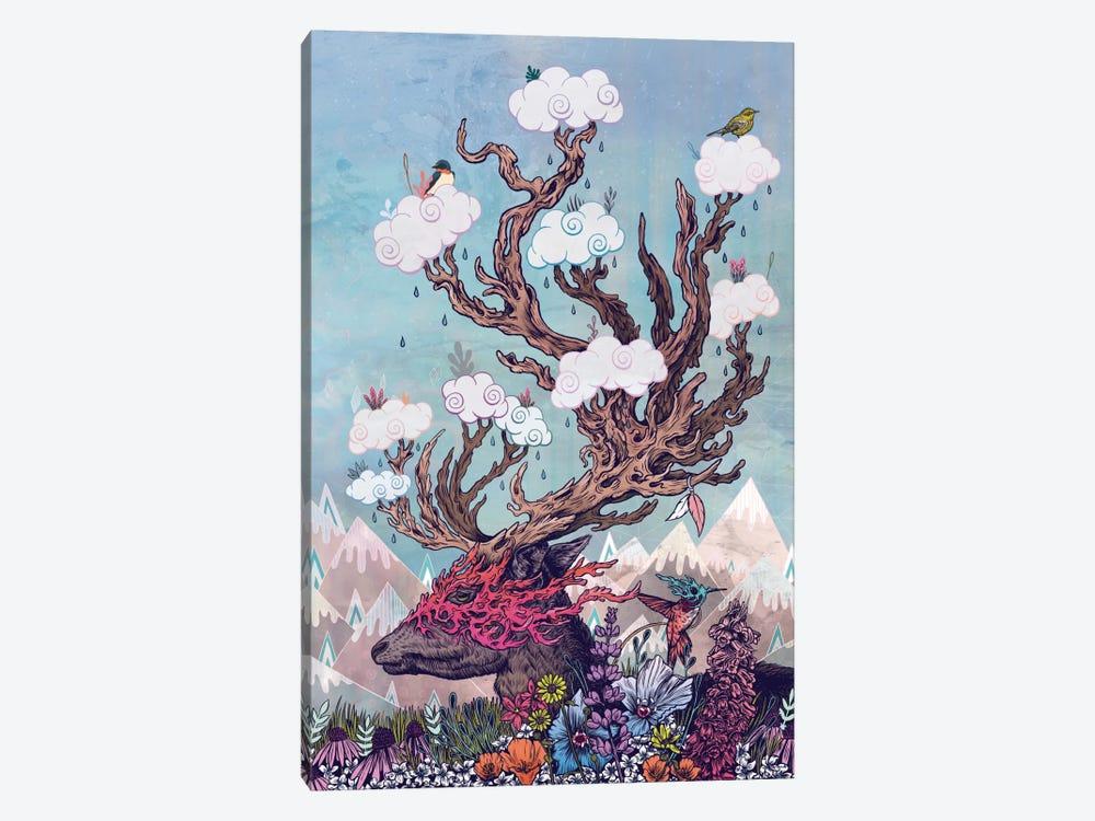 Journeying Spirit (Deer) by Mat Miller 1-piece Canvas Print