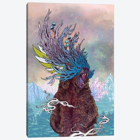 Journeying Spirit (Bear) Canvas Print #MMI38} by Mat Miller Canvas Art Print