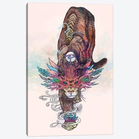 Journeying Spirit (Mountain Lion) Canvas Print #MMI39} by Mat Miller Art Print