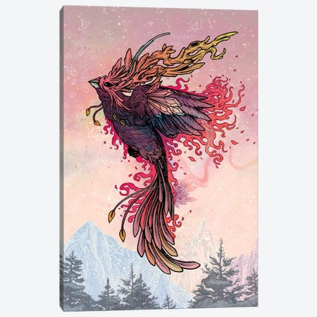 Phoenix Canvas Print #MMI41} by Mat Miller Canvas Wall Art