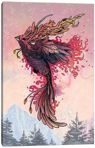 Phoenix Canvas Art Print