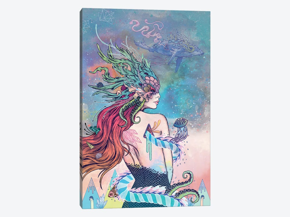 The Last Mermaid by Mat Miller 1-piece Canvas Art Print