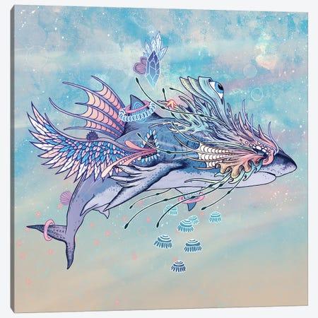 Journeying Spirit (Shark) Canvas Print #MMI46} by Mat Miller Canvas Print