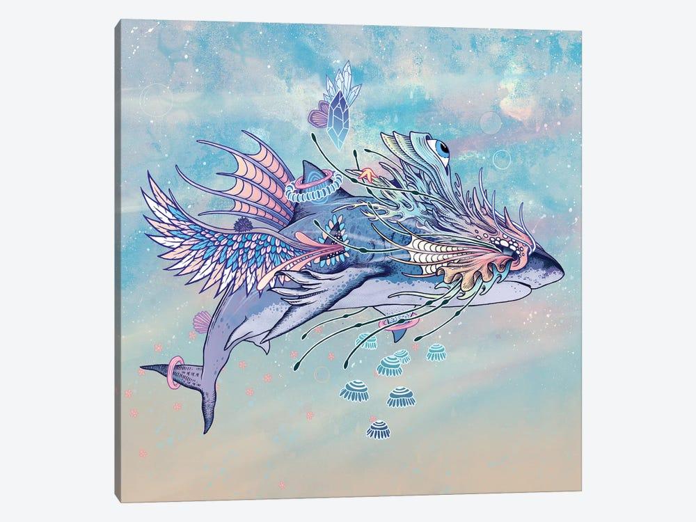 Journeying Spirit (Shark) by Mat Miller 1-piece Canvas Artwork