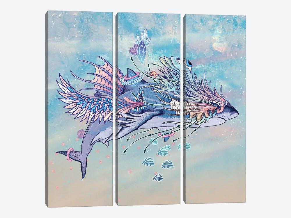 Journeying Spirit (Shark) by Mat Miller 3-piece Canvas Wall Art