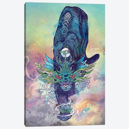 Spectral Cat Canvas Print #MMI47} by Mat Miller Canvas Print