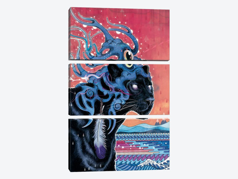Farseer by Mat Miller 3-piece Canvas Wall Art