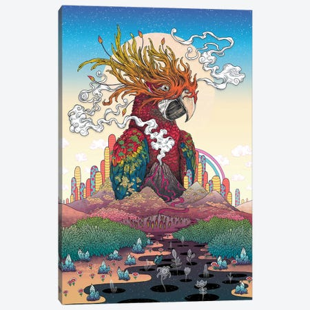 Borderlands Canvas Print #MMI50} by Mat Miller Art Print