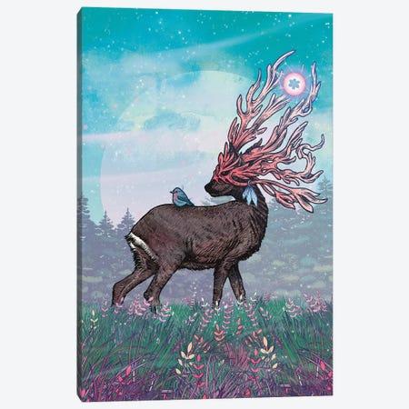 Companions Canvas Print #MMI51} by Mat Miller Art Print