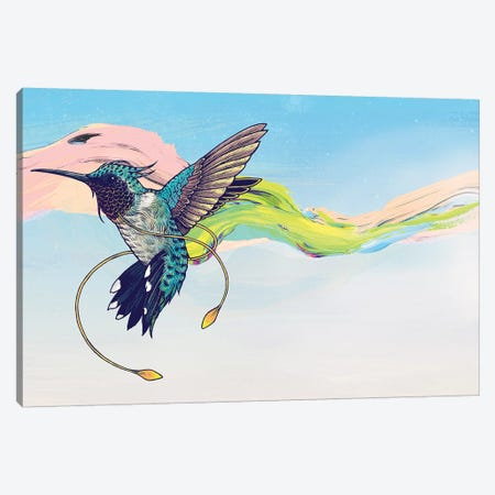 Hummingbird Canvas Print #MMI52} by Mat Miller Art Print