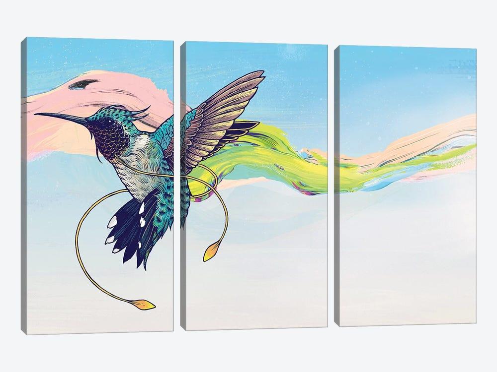 Hummingbird by Mat Miller 3-piece Art Print