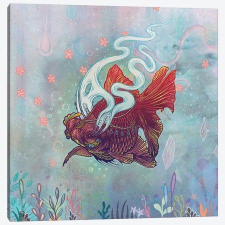 Ocean Jewel Canvas Print #MMI54} by Mat Miller Canvas Artwork
