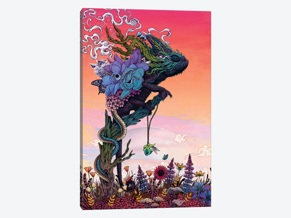 Phantasmagoria I by Mat Miller 1-piece Canvas Art