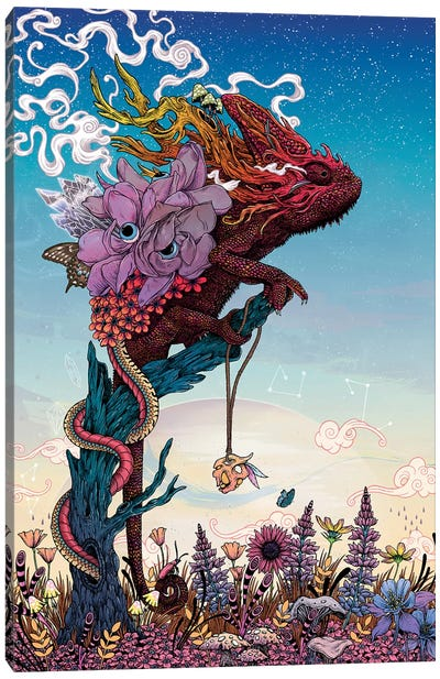Phantasmagoria II Canvas Art Print
