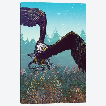 The Hunt Canvas Print #MMI57} by Mat Miller Canvas Artwork