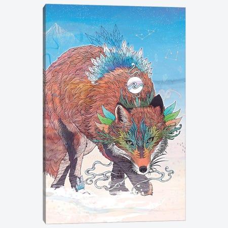 Kitsune Canvas Print #MMI58} by Mat Miller Canvas Art Print