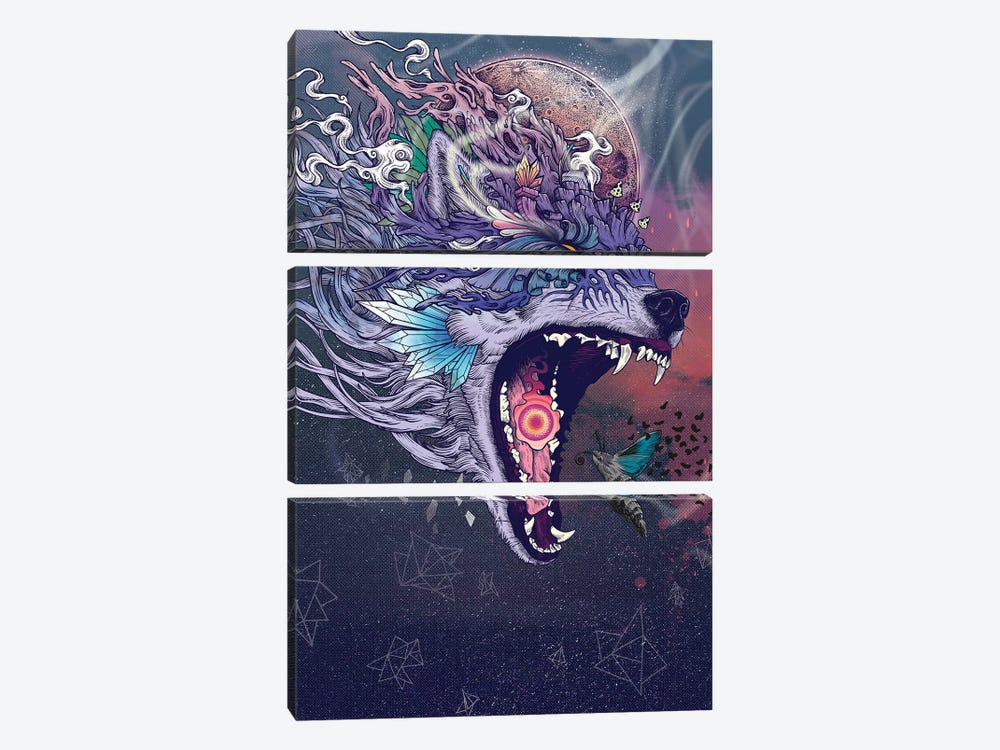 Kalopsia by Mat Miller 3-piece Canvas Art