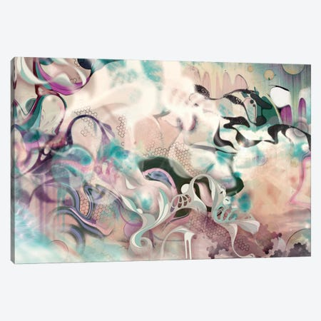 Fluidity Canvas Print #MMI5} by Mat Miller Canvas Art Print