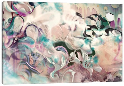 Fluidity Canvas Art Print