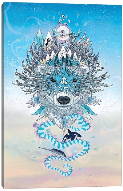 Ursa Canvas Art Print