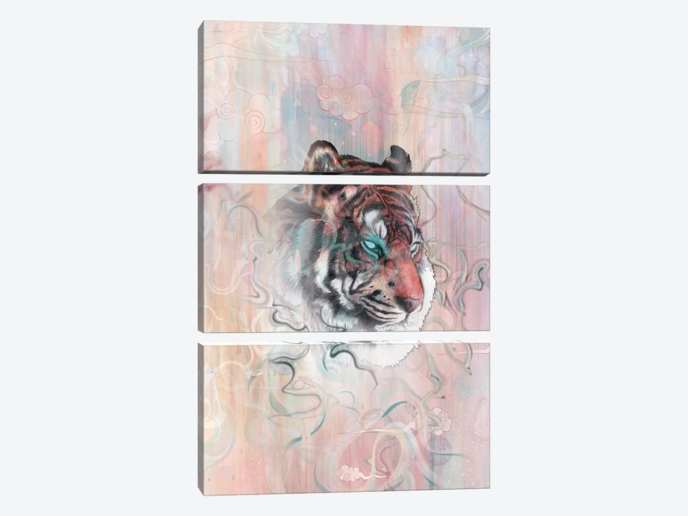 Illusive By Nature by Mat Miller 3-piece Canvas Wall Art