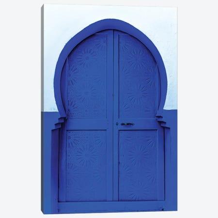 Blue White Canvas Print #MMJ27} by Mark MacLaren Johnson Canvas Artwork