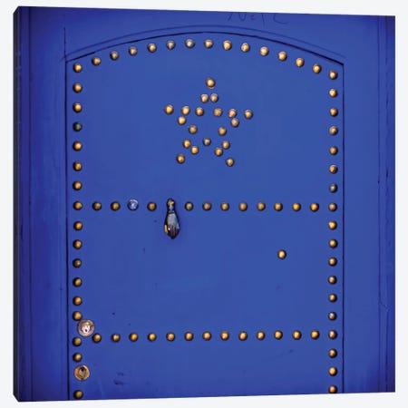 Blue Star Canvas Print #MMJ30} by Mark MacLaren Johnson Canvas Artwork