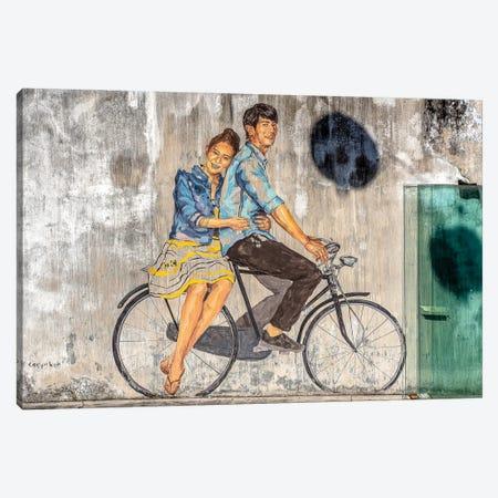 Lovers Canvas Print #MMJ32} by Mark MacLaren Johnson Canvas Artwork