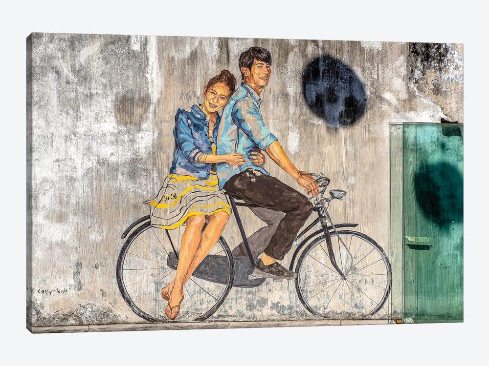 Lovers by Mark MacLaren Johnson 1-piece Art Print