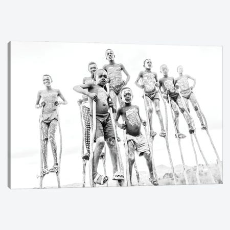 Stilt Crew Canvas Print #MMJ45} by Mark MacLaren Johnson Canvas Wall Art