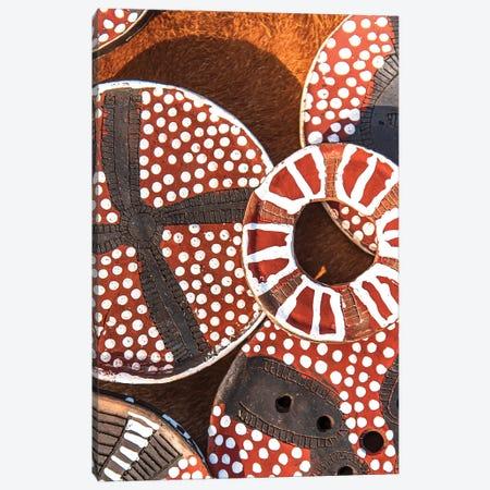 Mursi Plates II Canvas Print #MMJ48} by Mark MacLaren Johnson Art Print