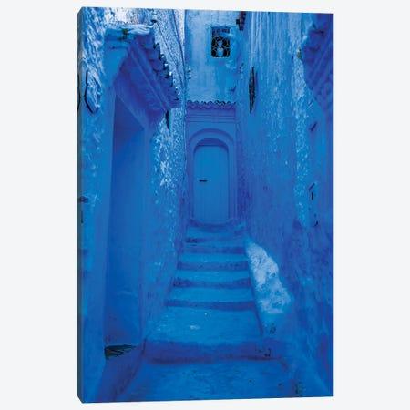 Blue City Canvas Print #MMJ50} by Mark MacLaren Johnson Canvas Artwork