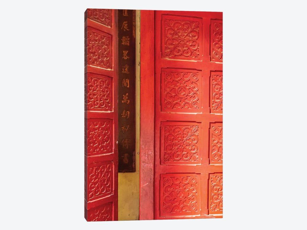 Hanoi Door by Mark MacLaren Johnson 1-piece Art Print